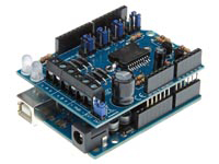 MOTOR & POWER SHIELD VOOR ARDUINO®