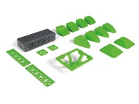 ALLBOT®-OPTION: SET PLASTIC ONDERDELEN B