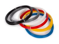 SET MET ABS-FILAMENT 1.75 mm - 6 KLEUREN - VOOR 3D-PRINTER EN 3D
