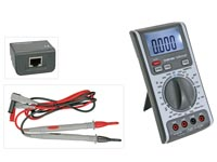 3-IN-1 MULTIMETER - KABEL- / LIJNTESTER