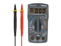 DIGITALE MULTIMETER - CAT II 500 V / CAT III 300 V - 10 A - 1999