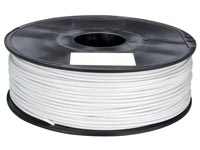1.75 mm (1/16&#34) HIPS FILAMENT - WIT - 1 kg