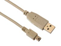 USB 2.0 A PLUG NAAR MINI-USB B PLUG / BASIS / 0.75m