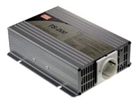 MEAN WELL - DC-AC INVERTER MET ZUIVERE SINUSGOLF  - 200 W - DUIT