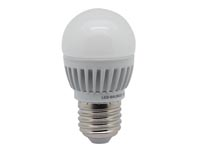 LEDLAMP - KOGEL -  4.5W - E27 - 230V - WIT