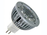 1W LED LAMP - WARM WHITE (2700K) - 12VAC/DC - MR16