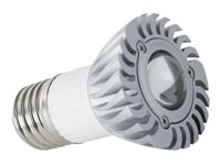 3W LEDLAMP - WARMWIT (2700K) - 230V - E27