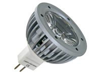 3W LED LAMP - WARMWIT (2700K) 12VAC/DC - MR16