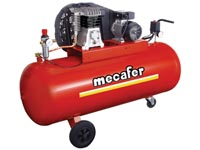 COMPRESSOR MECAFER - 3 pk / 200l / 10 bar