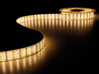 FLEXIBELE TRIPLE LED STRIP - WARM WIT - 900 LEDS - 5m - 12Vdc