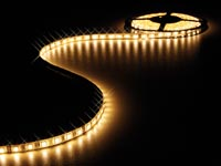 FLEXIBELE LED STRIP - WARM WIT 3500K - 150 LEDs - 5m - 12V