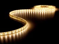 FLEXIBELE LED STRIP - WARM WIT 3500K - 300 LEDs - 5m - 12V