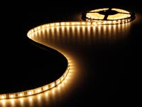 FLEXIBELE LED STRIP - WARM WIT 2700K - 300 LEDs - 5m - 24V