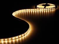 FLEXIBELE LED STRIP - WARM WIT 3500K - 300 LEDs - 5m - 24V