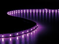 FLEXIBELE LED STRIP - ROZE - 300 LEDs - 5 m - 24 V