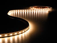 FLEXIBELE LED STRIP - WARM WIT 2400K - 300 LEDs - 5m - 24V