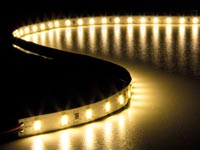 FLEXIBELE LED STRIP - WARMWIT 3500 K - 300 LEDs - 5 m - 24 V