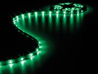 FLEXIBELE LED STRIP - GROEN - 150 LEDS - 5m -12V
