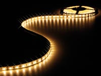 FLEXIBELE LED STRIP - WARM WIT - 300 LEDs - 5m - 24V