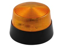 LED-KNIPPERLICHT - AMBER - 12 VDC -  ø 77 mm