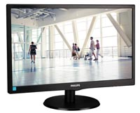 "LED-MONITOR PHILIPS - SMARTCONTROL - 21.3"" - VGA/HDMI"