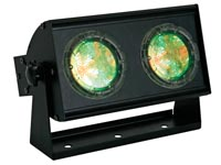 TWIN LEDPROJECTOR - 302 R+G+B-LEDS
