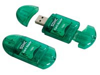 USB 2.0-KAARTLEZER