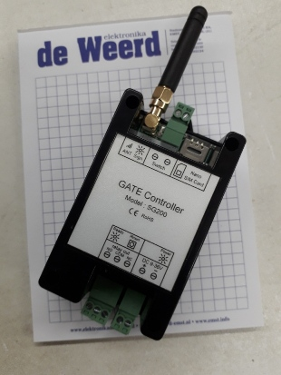 SMS Gate Controller