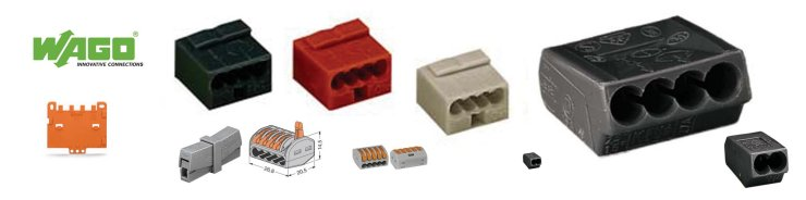 www.0nlineshop.nl Wago ISOLATED PUSH-WIRE CONNECTOR FOR JUNCTION BOXES